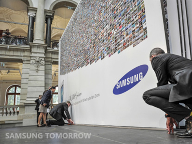 Samsung Guinness World Record Photobook