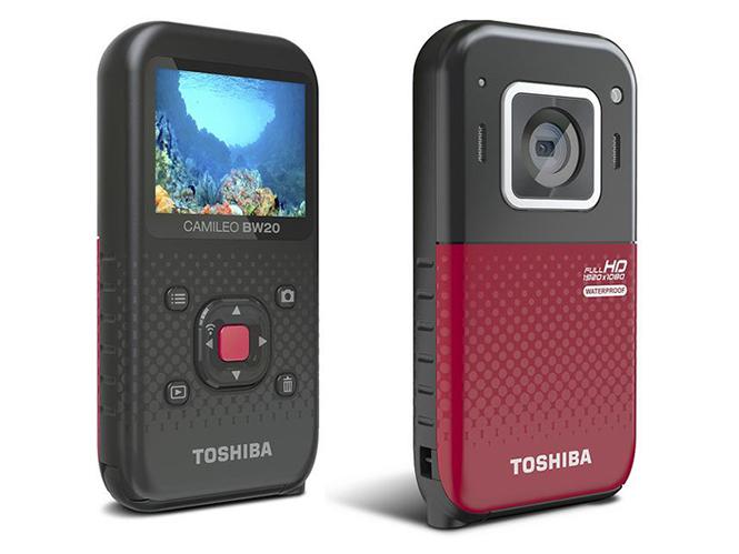 Toshiba Camileo BW 20