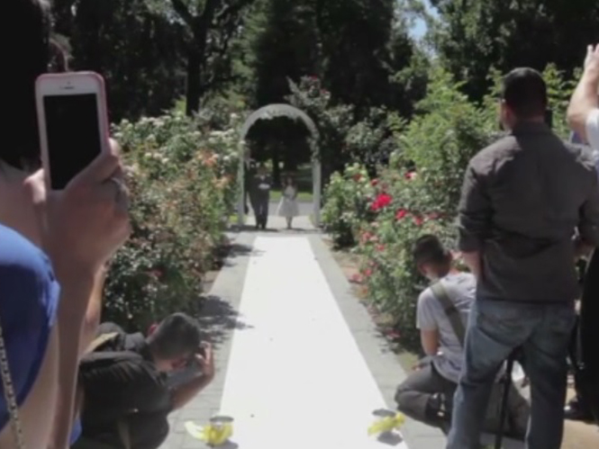 Καλεσμένοι σε γάμο καλούνται να αφήσουν τη φωτογραφική κάλυψη στους επαγγελματίες