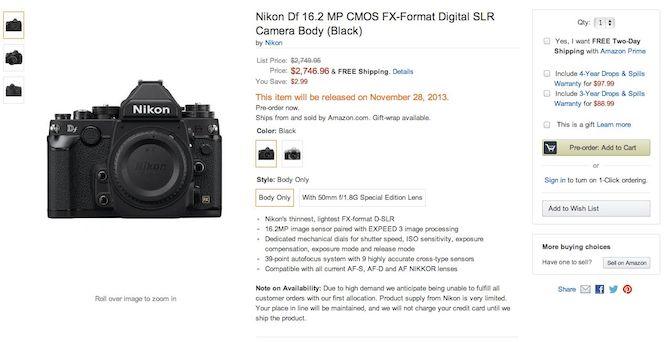 Amazon-Nikon-Df