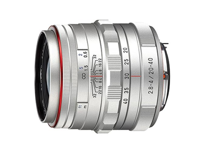 HD PENTAX DA 20-40mm F2.8-4 ED silver