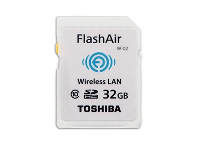 Νέα ασύρματη κάρτα Toshiba FlashAir II Wireless SD