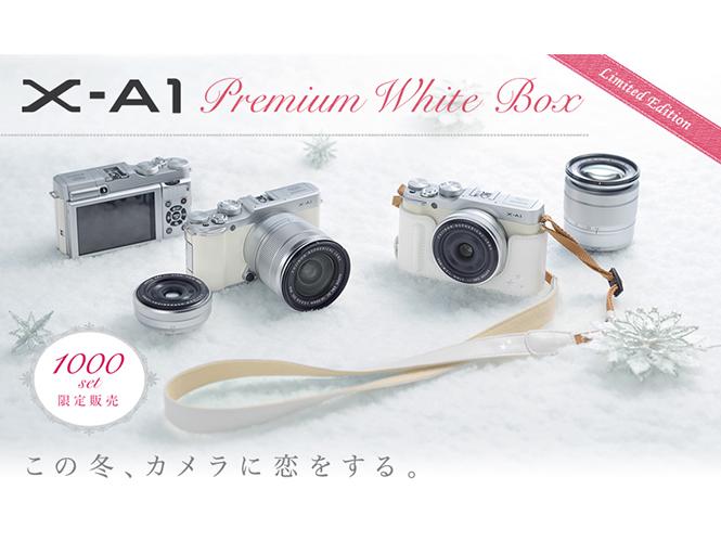 Η Fujifilm  παρουσιάζει την λευκή έκδοση της Fujifilm X-A1