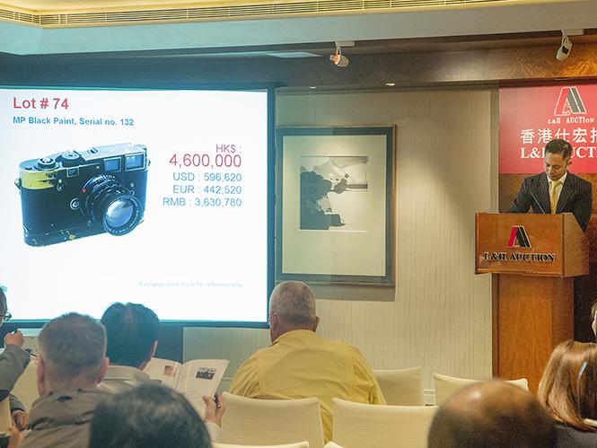 Συλλεκτικές Leica μηχανές αλλάζουν χέρια για χιλιάδες ευρώ σε δημοπρασία του οίκου L&H
