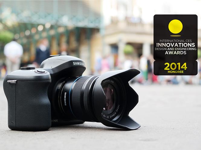 Η Samsung κερδίζει βραβείο καινοτομίας CES 2014 για την Samsung GALAXY NX