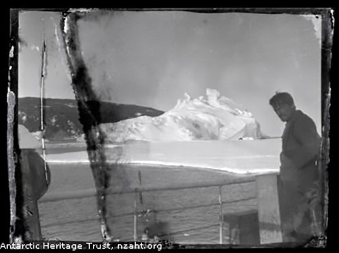 Antarctic lost photos