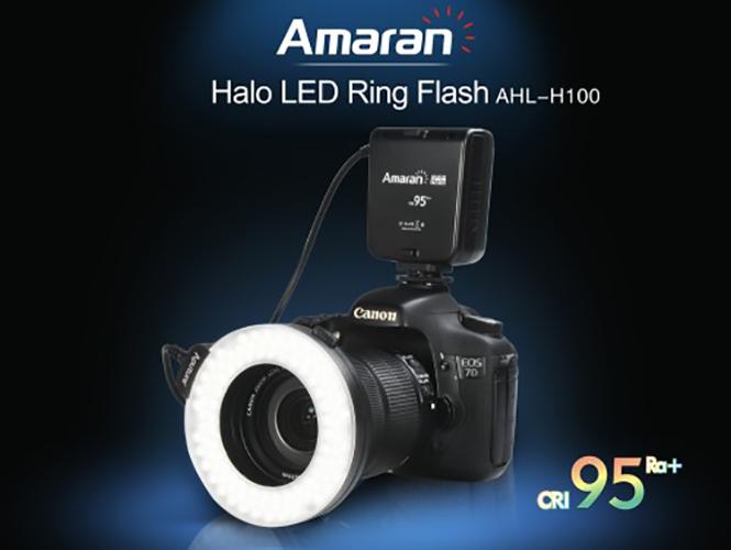 Aputure Amaran Halo H100, νέο Ring Flash/LED φωτιστικό υπόσχεται καλύτερη απόδοση χρωμάτων