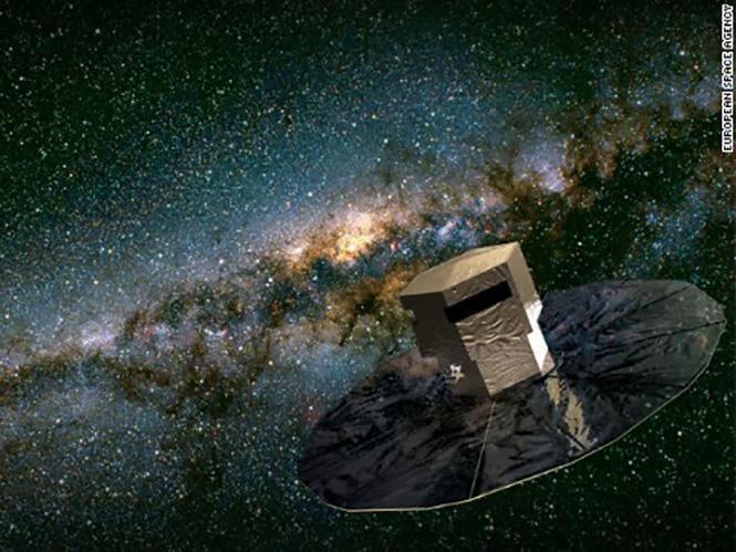Η Ευρωπαϊκή Διαστημική Υπηρεσία θέτει σε τροχιά κάμερα 1000 megapixels