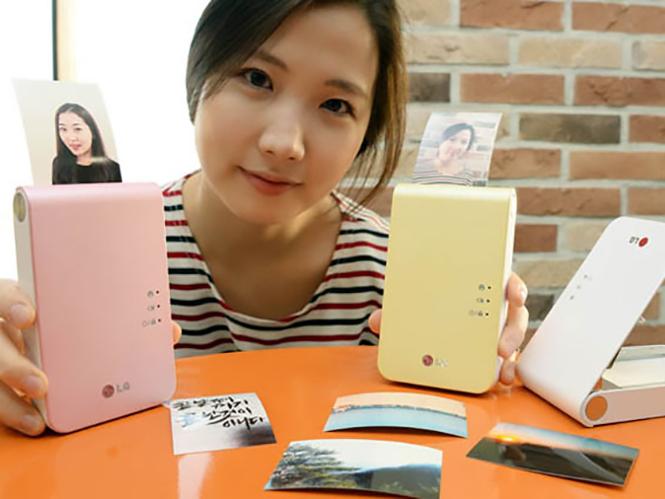 LG Pocket Photo 2, φορητός φωτογραφικός εκτυπωτής με ανάλυση 600 dpi