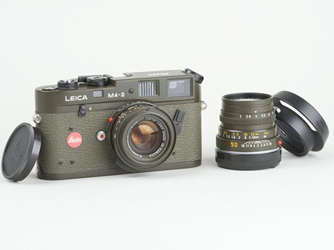Leica M4-2 Safari Prototype