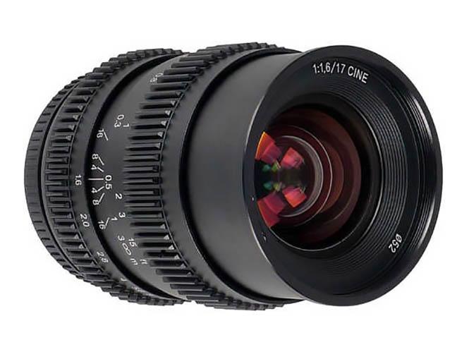 Νέος φακός SLR Magic 17mm T1.6