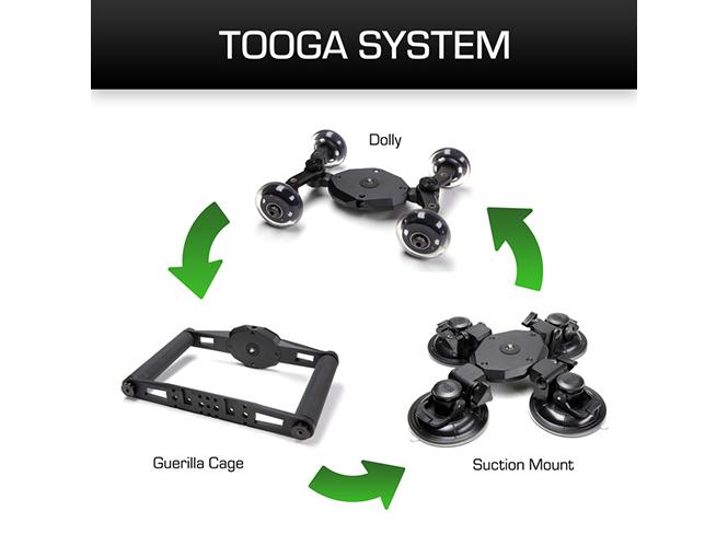 Tooga Gear, ειδικό σύστημα για καταγραφή video με DSLR, GoPro ή smartphone