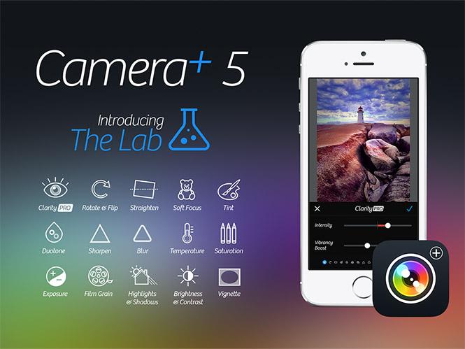 Αναβάθμιση για την εφαρμογή Camera+