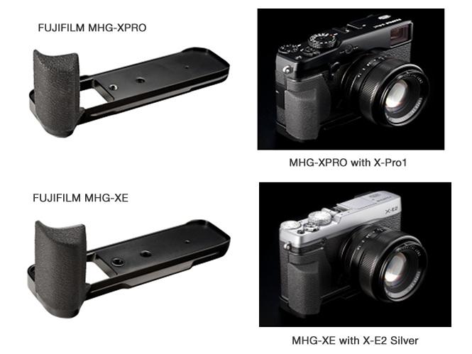Η Fujifilm παρουσιάζει νέα handgrips για τις Fujifilm X-Pro1 και Fujifilm X-E1/X-E2