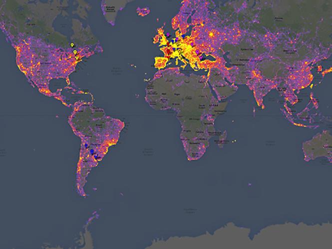Τα πιο φωτογραφημένα μέρη στον κόσμο βάση ειδικού χάρτη της Google