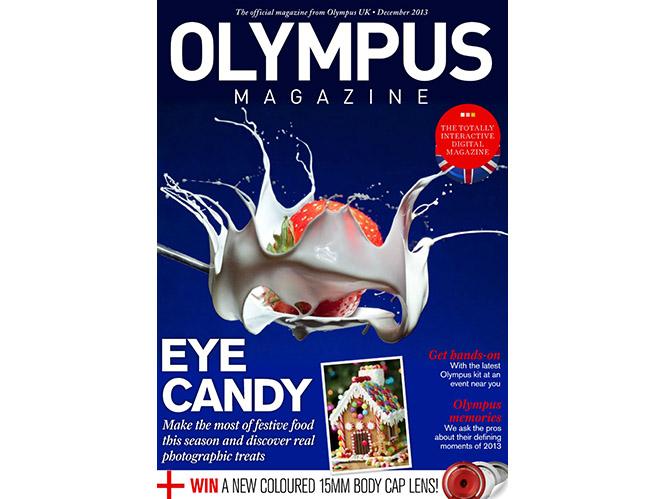 Διαβάστε το τεύχος Δεκεμβρίου του περιοδικού της Olympus
