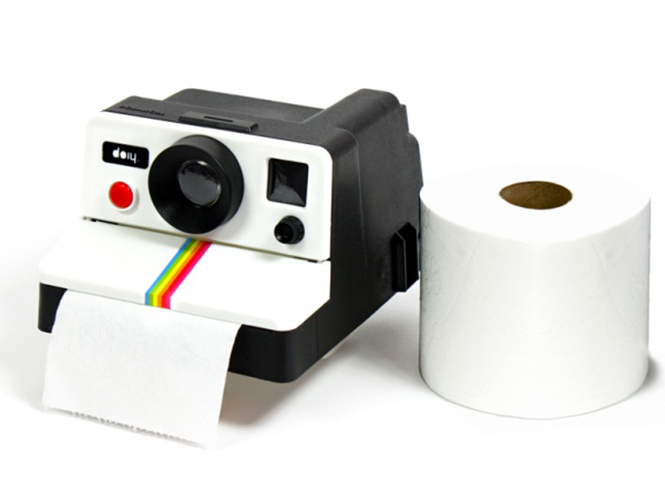 Polaroll, χρησιμοποιήστε χαρτί υγείας μέσω μίας μηχανής Polaroid
