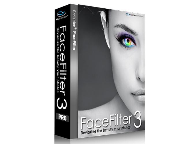 FaceFilter3, πρόγραμμα retouch για Windows και Mac
