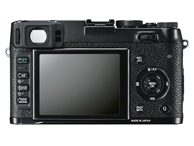 Fujifilm X100S black
