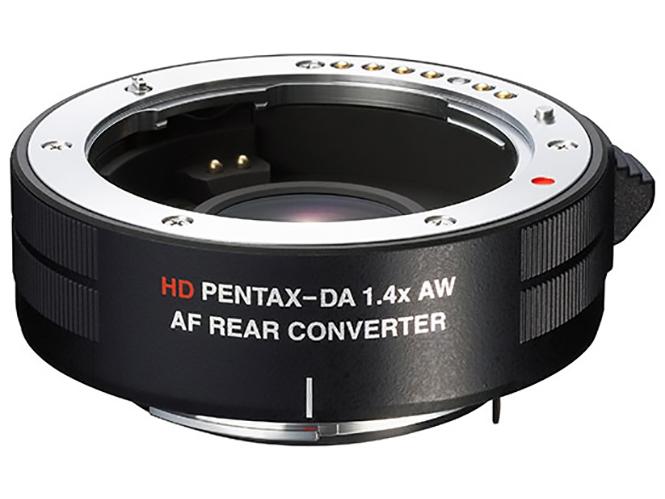 Επίσημη ανακοίνωση του HD Pentax-DA AF Rear Converter 1.4X AW