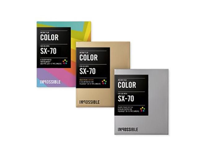 Η Impossible Project ανακοίνωσε νέα film για την Polaroid SX-70 με έμφαση στο χρώμα