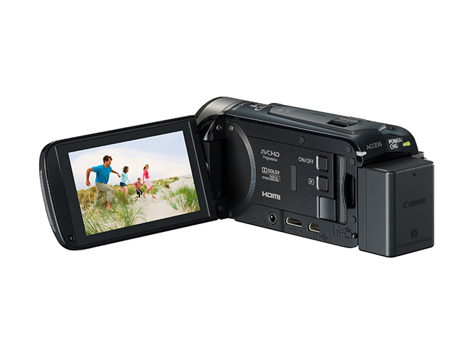 LEGRIA HF R506 BLACK REVERSE w LCD OPEN