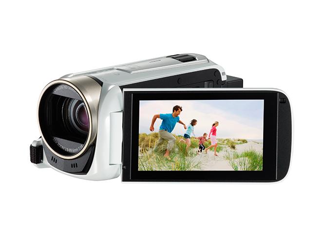 LEGRIA HF R506 WHITE FSL w LCD OPEN