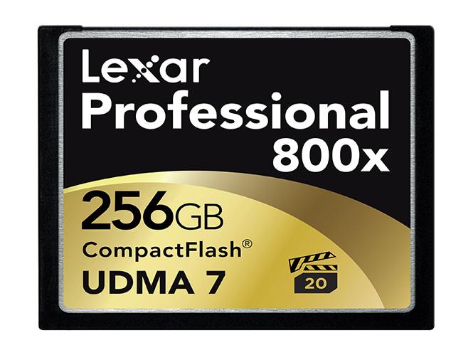 Lexar 800x 256GB