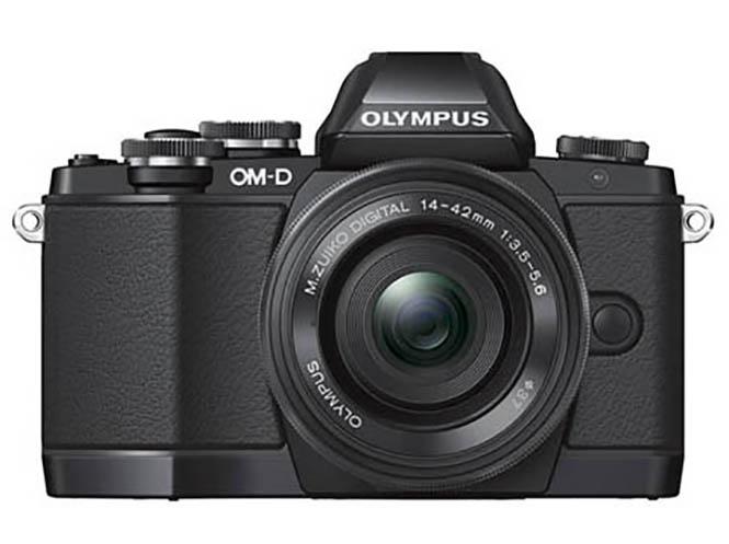 Olympus-OMD-E-M10-camera-front