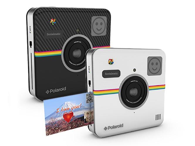 Η Polaroid ανακοίνωσε την κυκλοφορία της Polaroid Socialmatic, της πρώτης Android instant ψηφιακής μηχανής
