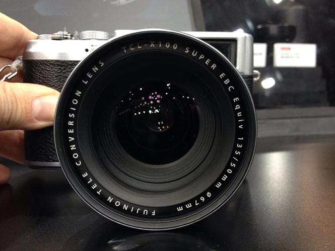 Fujifilm X100s teleconverter