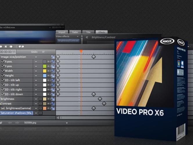 Αναβάθμιση για το MAGIX Video Pro X με υποστήριξη 64-bit και ισχυρό interface