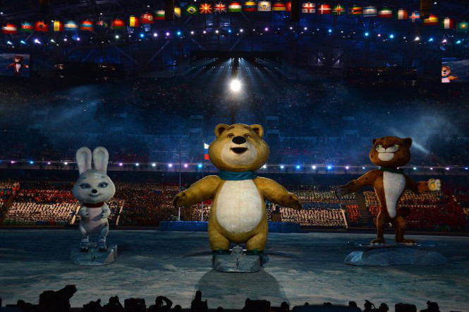 Olympic Games sochi 2014 to 5