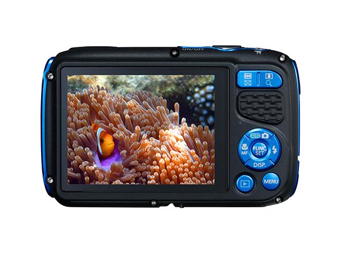 CanonPowerShot D30 BLUE BCK