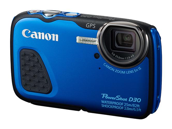 Canon PowerShot D30, μηχανή για βουτιές σε βάθος 25 μέτρων