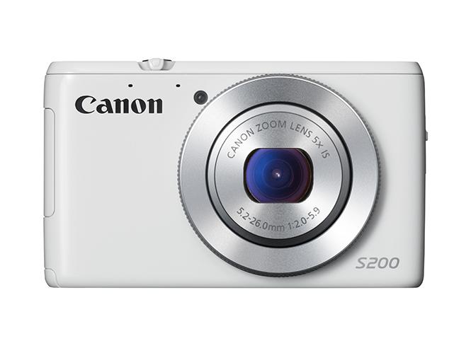 Canon PowerShot S200, εξαιρετικά λεπτή με φακό φωτεινότητας f/2