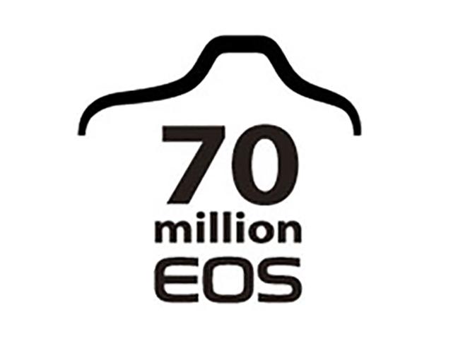 Η Canon γιορτάζει την παραγωγή 70 εκατομμυρίων EOS μηχανών