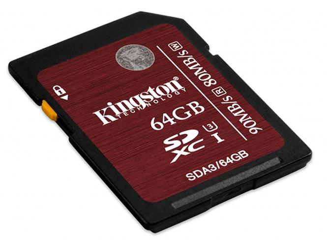 Νέα σειρά  SD κάρτών μνήμης από την Kingston, κατάλληλες για λήψη video 4K