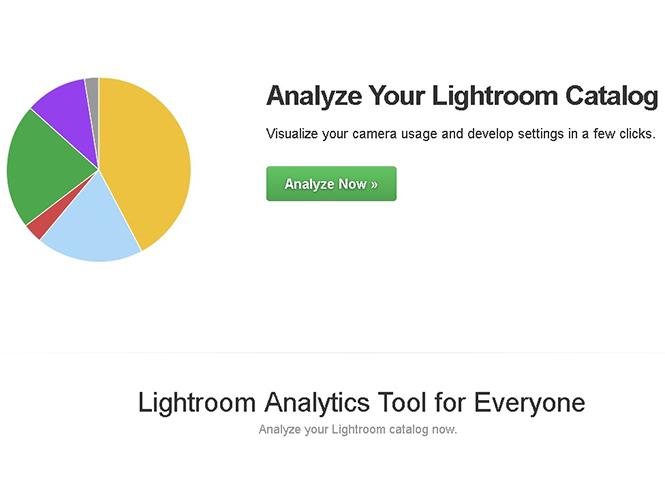 Lightroom Analytics, plugin για το Adobe Lightroom αναλύει τα metadata των εικόνων σας