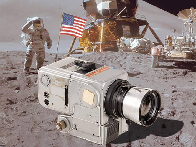 Σε δημοπρασία κάμερα της NASA που πάτησε στη Σελήνη και γύρισε στη Γη