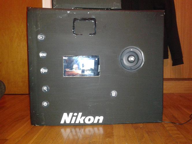 Nikon D3100 Costume