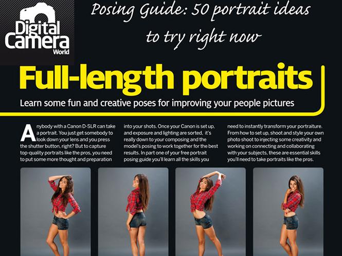 Δείτε τις 90 πόζες που περιέχονται στον νέο οδηγό φωτογράφισης πορτρέτων