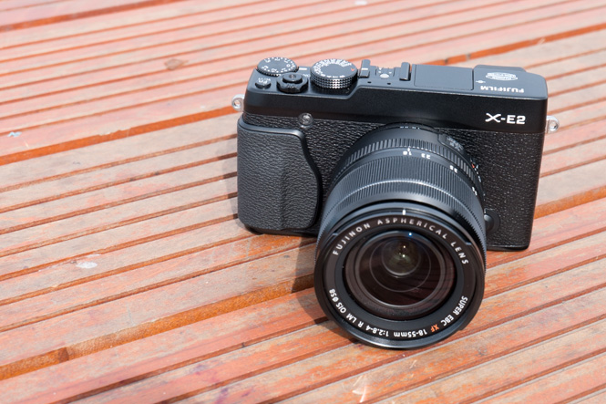 Fujifilm X-E2 (Hands On video)