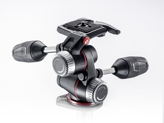 Νέα κεφαλή τριποδιού Manfrotto X-Pro 3-Way Head