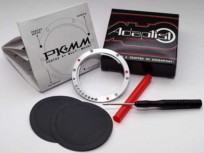 Αναστήστε τους παλιούς φακούς σας με το Pentax K+ Multi-Mount (PK+MM)