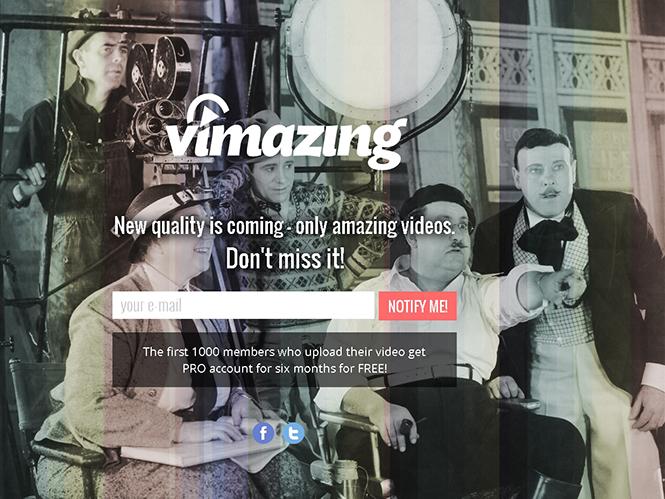 Vimazing, το κοινωνικό δίκτυο των κινηματογραφιστών και βιντεοληπτών