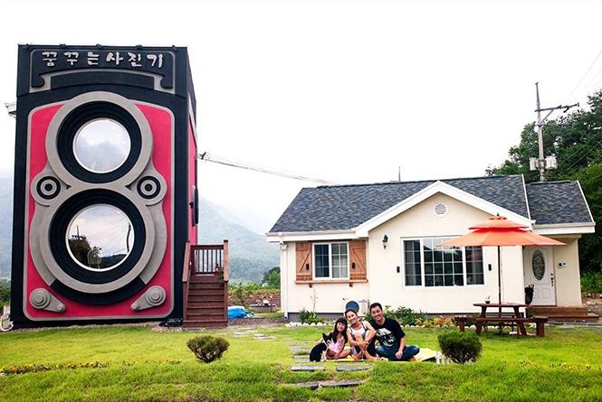 Δείτε το μοναδικό cafe-φωτογραφική μηχανή Rolleiflex στη Νότιο Κορέα