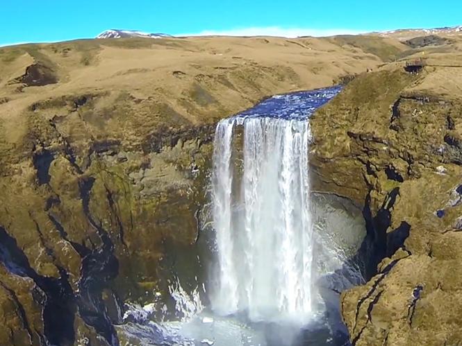 H Ισλανδία από τον αέρα σε ένα μοναδικό video
