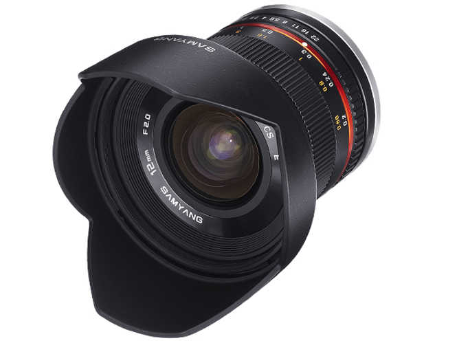 H Samyang ανακοίνωσε τον νέο Samyang 12mm F2.0 NCS CS για mirrorless μηχανές
