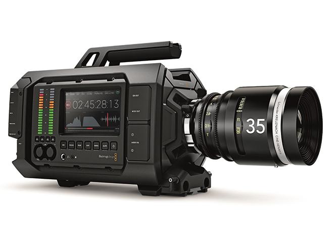H Blackmagic Design ανακοίνωσε την Blackmagic URSA, την πρώτη αναβαθμίσιμη κάμερα